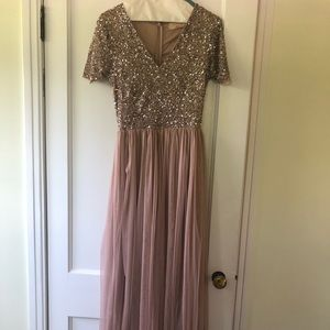 ASOS Formal dress Blush